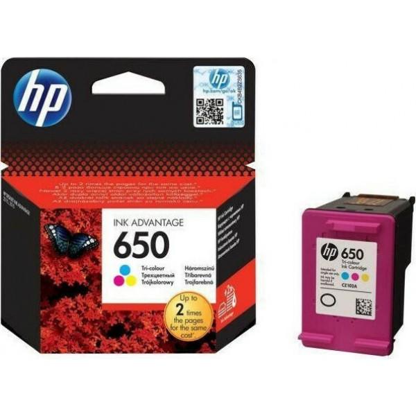 HP 650 Tri-colour (CZ102AE)