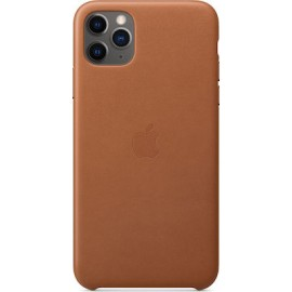 Apple iPhone 11 Pro Max Leather Case Saddle Brown