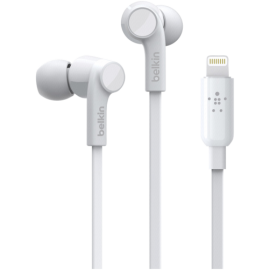 Belkin Rockstar In-Ear Headphone Lightning white G3H0001btWHT
