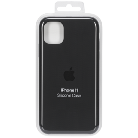 Apple iPhone 11 Silicone Case Black