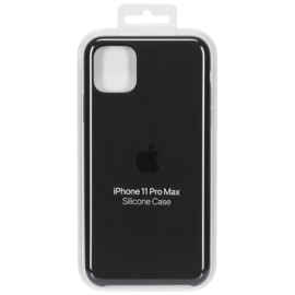 Apple iPhone 11 Pro Max Silicone Case Black