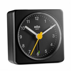 Braun BC 02 B quartz alarm clock black