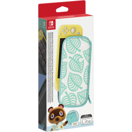 Nintendo Switch Lite Bag (Animal Crossing) & protection foil