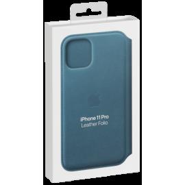 Apple iPhone 11 Pro Leather Foli Peacock