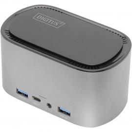 DIGITUS 11-Port USB-C Docking Station with SSD-Housing