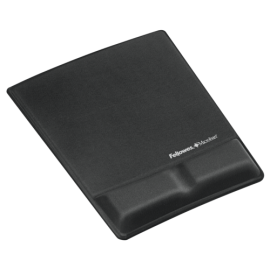 Fellowes Health-V Fabrik Mouse Pad/Wrist Support