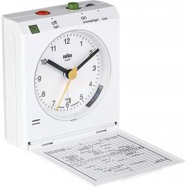 Braun BNC 005 black Reflex Control Travel Alarm Clock