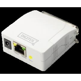 DIGITUS Fast Ethernet Print Server Parallel