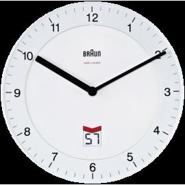 Braun BNC 006 Wall Clock white
