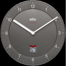 Braun BNC 006 Wall Clock grey
