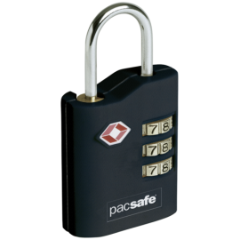 Pacsafe Prosafe 700 TSA Combination Padlock Black