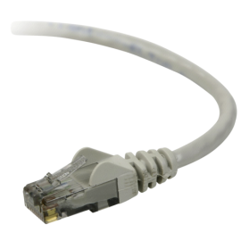 Belkin CAT 5 e network cable 0,5 m UTP grey snagless (A3L791B50CM-S)