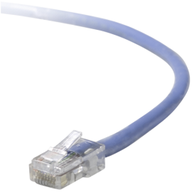 Belkin CAT 5 e network cable 1,0 m UTP blue assembled