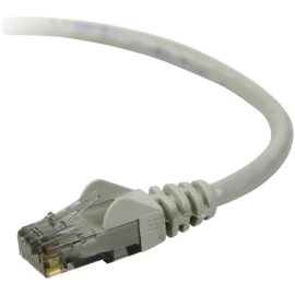 Belkin CAT 5 e network cable 1,0 m UTP grey snagless