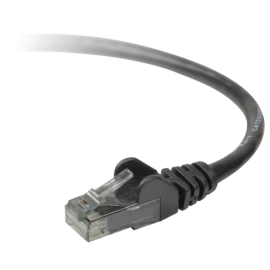 Belkin CAT 5 e network cable 2,0 m UTP black  snagless
