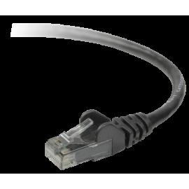 Belkin CAT 5 e network cable 3,0 m UTP black snagless (A3L791B03M-BLKS)