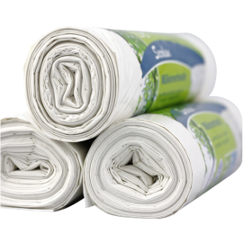 1x25 Secolan Garbage Bags 20 l extra strong white