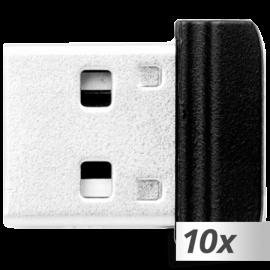 10x1 Verbatim Store n Stay Nano 16GB USB 2.0 (49063)