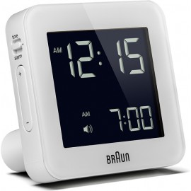 Braun BNC 009 Global Radio Controlled Alarm Clock white