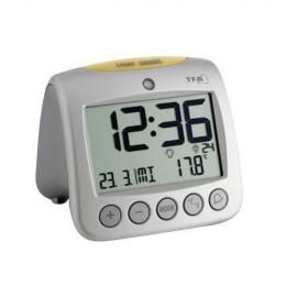 TFA 60.2514 Sonio radio controlled alarm clock with temp
