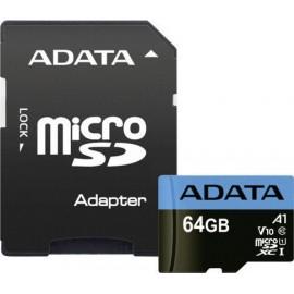 ADATA microSDXC UHS-I Class 10 64GB Premier with Adapter A1