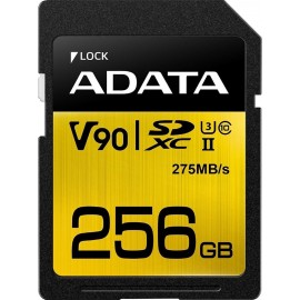 ADATA SDXC UHS-II U3 Class 10 256GB Premier One