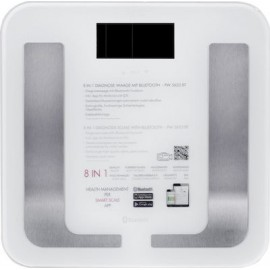 AEG PW 5653 BT Electronic personal scale Square White