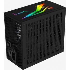 Aerocool LUX RGB 550W Full Wired 80 Plus Bronze