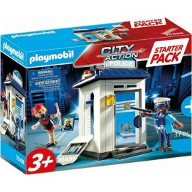 Playmobil City Action 70498 Starter Pack Police Station