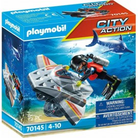 Playmobil City Action 70145 Diving Scooter in Rescue