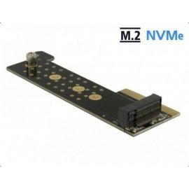 DeLOCK PCIe x4> 1x NVMe M.2 Key M server adapter, (89929)