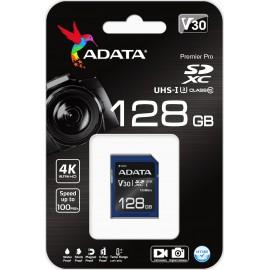 Adata Premier Pro SDXC 128GB Class 10 U3 V30