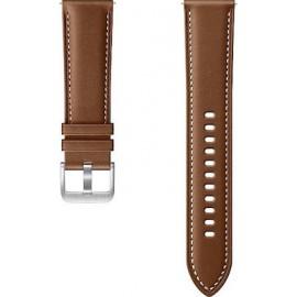Samsung Stitch Leather Band 20mm Galaxy Watch3 Brown S/M