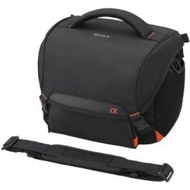 Sony Τσάντα Ώμου Φωτογραφικής Μηχανής σε Μαύρο Χρώμα